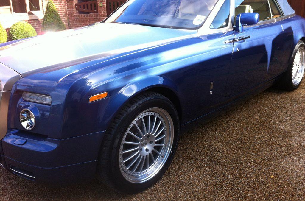 Rolls Royce Phantom Convertible